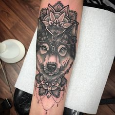 50 Of The Most Beautiful Wolf Tattoo Designs The Internet Has Ever Seen Tattoo Inspirations Wolf Tattoo Sleeve, Arm Tattoo, Sleeve Tattoos, Tattoo Wolf, Chest Tattoo, Wolf Tattoo Design, Tattoo Designs, Wolf Tattoos For Women, Tattoos For Guys