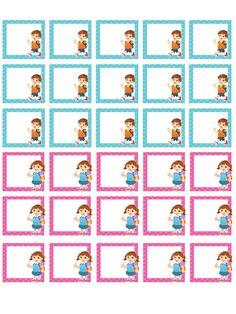Νηπιαγωγός για πάντα....: Ο Βοηθός της Δασκάλας Preschool Labels, Printable Preschool Worksheets, Classroom Labels, Classroom Decor, Notebook Labels, Hebrew School, School Frame, School Cartoon, Class Decoration