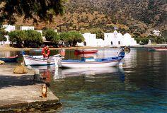 Waterfront, Vathi, Sifnos island