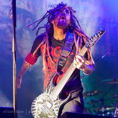 "Brian ""Head"" Welch, guitar, Korn"
