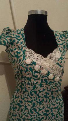 Rope de la maison New Saree Blouse Designs, Silk Kurti Designs, Salwar Neck Designs, Kurta Neck Design, Dress Neck Designs, Iranian Women Fashion, African Fashion Dresses, Indian Designer Wear, Camisole