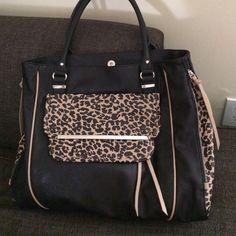 Steve Madden Leppard Print Handbag NOT FOR SALE Steve Madden Bags