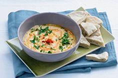 Kijk wat een lekker recept ik heb gevonden op Allerhande! Hummus