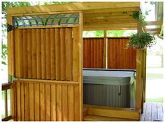 All About Hot Tub Enclosures