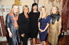 Reese Witherspoon, Andrea Jung, Suze Orman, Alyse Nelson, President & Chief Executive Officer, Vital Voices & Carol Kurzig, President of the Avon Foundation for Women.