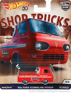 Ford Econoline pick up shop trucks Hot Wheels Hot Wheel Autos, Shop Truck, Volkswagen Transporter, Hot Wheels Cars, Porsche 356, Pickup Trucks, Ford Trucks, Ebay, Hobbies