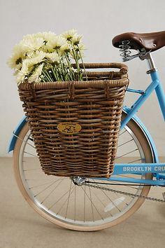 Surfside Bike Basket #Anthropologie