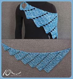 Ravelry: Rippled Rainfall pattern by 10 Hours or Less $4.95 USD