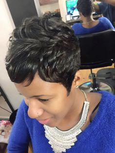 Short Hair Slay by Raijona B.
