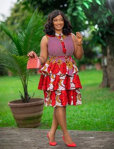 African Dresses For Kids, Latest African Fashion Dresses, African Dresses For Women, African Print Dresses, African Print Fashion, African Attire, Ankara Fashion, Latest Ankara Short Gown, Ankara Short Gown Styles