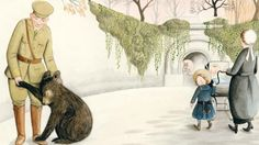 Finding Winnie: The Improbable and Touching Real-Life Story of the Baby Bear Who Inspired Winnie-the-Pooh – Brain Pickings Ill Always Love You, New Children's Books, Story Of The World, World War I, Embedded Image Permalink, First World, True Stories, The Book, Winnie The Pooh