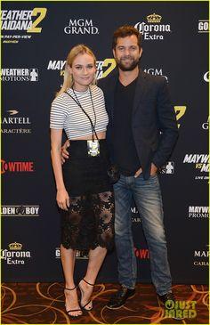 Joshua Jackson & Diane Kruger Make Fight Night a Date Night!