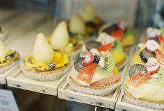 Sweet treat cake mini fruit tart