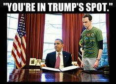 """Abuse not """"the big bang theory"""" for a wrong message ! Sheldon Cooper is highly intelligent and would never choose Trump ! Funny Quotes, Funny Memes, Hilarious, Jokes, Sheldon Cooper Memes, Nerd Love, I Voted, Big Bang Theory, Funny People"""
