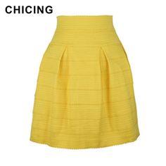 High Waist Elastic Striped Casual Mini Skirt  Only $19.99 => Save up to 60% and Free Shipping => Order Now!  #Skirt outfits #Skirt steak #Skirt pattern #Skirt diy #skater Skirt #midi Skirt #tulle Skirt #maxi Skirt #pencil Skirt