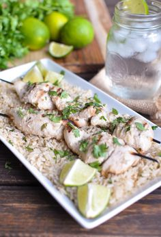 Coconut Lime Chicken and Rice