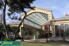 Barcelona - Parc de la Ciutadella - Hivernacle (Foto: Albert Esteves, 2015) J. Amargós 1883-87