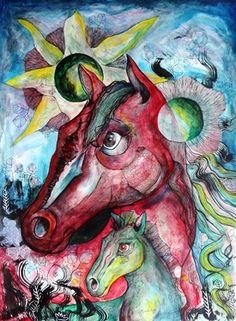 "Saatchi Art Artist Lorenzo Muriedas; Painting, ""Amor Natural"" #art"