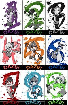 Kagerou Project (カゲロウプロジェクト) -「DAZE!」/「chocho(チョチョ)」のイラスト [pixiv]