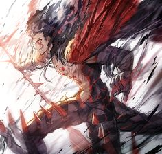 No larger size available Character Art, Character Design, Fate Characters, Fate Servants, Fate Anime Series, Fate Zero, Anime Artwork, Fate Stay Night, Anime Manga