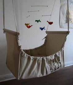 10 hermosas cunas colgantes para tu bebé fa062bbf3afe