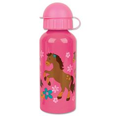 Stephen Joseph Stainless Steel Water Bottle Girl Horse -- Visit the image link more details. Note:It is affiliate link to Amazon.