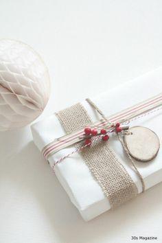 """""""white gift box"""" """"burlap ribbon"""" - Google Search"""