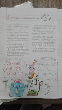 Nel paese dell'Ortografia si va accompagnati sempre da Grammaticus... Bullet Journal, 3, Studying