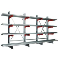 Bologna, Steel Storage Rack, Industrial, Hobby Ideas, Shop Organization, Welding, Pipes, Warehouse, Bookcase
