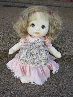 Mattel My Child Doll Ash Blonde/Brown Eyes with Dress Set