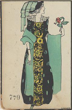 779. Maria Likarz , Wiener Werkstätte postcard