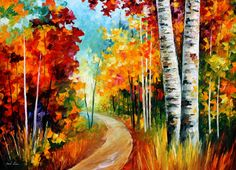 WHITE BIRCHES - Oil painting by Leonid Afremov. One day offer - $99 include shipping https://afremov.com/WHITE-BIRCHES-PALETTE-KNIFE-Oil-Painting-On-Canvas-By-Leonid-Afremov-Size-40-X30.html?bid=1&partner=20921&utm_medium=/offer&utm_campaign=v-ADD-YOUR&utm_source=s-offer