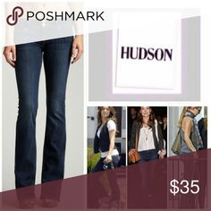 Hudson bootcut jeans Beautiful pant. Definitely a closet essential! Great condition! husband  Jeans Boot Cut