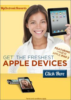 Get The Freshest Apple Devices … Yes For Free!