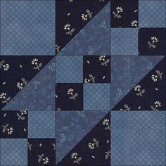 11-8 Road to the Whitehouse was irst published in Farm Journal Quilt Patterns, in 1935.