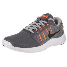 reputable site 1cbf3 4e139 Nike Men s  Lunarstelos  Dark, Black, Wolf, and Total Orange Rubber and
