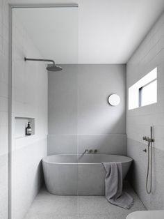 Home Decor Kitchen .Home Decor Kitchen Concrete Bathtub, Concrete Basin, Bathroom Renos, Bathroom Renovations, Master Bathrooms, Bathroom Ideas, Wet Room Bathroom, Light Bathroom, Bathroom Wall Lights