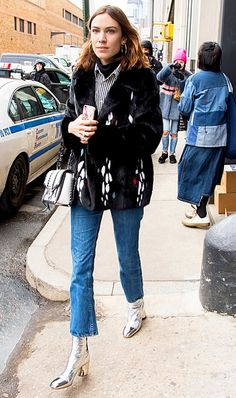 ANKLE BOOTS  Call it a coincidence or not, but every one of the best outfits of 2017 included a pair of ankle boots. They've proven to be the perfect complement to any look, which explains why every fashion girl is obsessed with them.