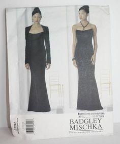 Vogue Pattern No. 2237 Designer Badgley Mischka Misses Bolero