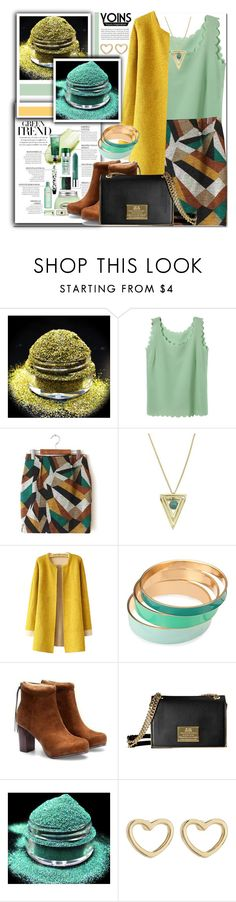"""""""Yoins Geo Print Mini Skirt"""" by prigaut ❤ liked on Polyvore featuring Marc by Marc Jacobs, women's clothing, women's fashion, women, female, woman, misses, juniors, yoins and GeroPrintMiniSkirt"""