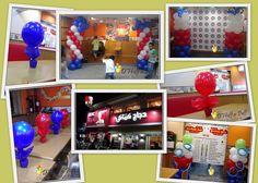 Creative Balloon Decor: Kfc, Rigga road, Dubai UAE