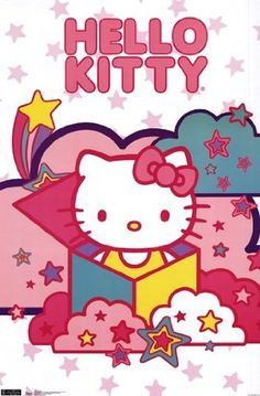 $9.00 Hello Kitty - Stars Poster (22.00 x 34.00)  From Trends International   Get it here: http://astore.amazon.com/ffiilliipp-20/detail/B007A4AOY6/176-1818201-3103728