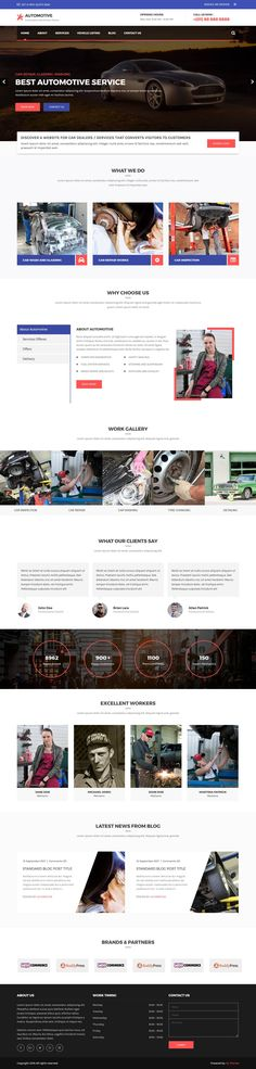 Automotive is responsive WordPress themes specially design for automobile industries where you can easily display your car listing. Automobile Industry, Premium Wordpress Themes, Web Development, The Good Place