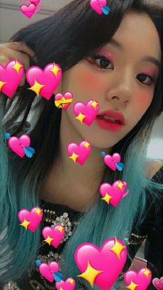 Chaeyoung Twice Cute Selca Aesthetic Soft Icon Kpop Girl Group ( Nayeon, Signal Twice, Selca, Genuine Smile, Twice Once, Chaeyoung Twice, Twice Kpop, Dahyun, Green Hair