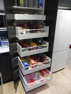 Inner Pantry drawers - simply the best and most durable systems for pantry's on the market