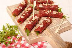 Carpaccio-rolletjes - Keuken♥Liefde