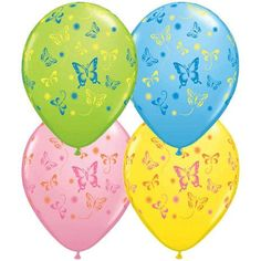 "(12) Assorted Butterflies 11"" Latex Balloons Qualatex http://www.amazon.com/dp/B001AWB5CO/ref=cm_sw_r_pi_dp_mYWLtb1RHDYNM30A"