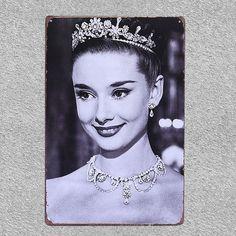 Royal Beauty Metal Sign