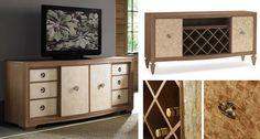 像精心設計的雙面可穿時裝,Carocole 秋季新品斗櫃也有兩種面貌;櫃體門片從中間翻轉至兩側後,展露出門面的另種材質、以及收納紅酒的菱格櫃體。 One piece , Two way. 添購一個斗櫃,卻像擁有兩件家具! THE PIVOTAL POINT 斗櫃 (W183* D54* H78 cm)