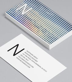 Nicéphore Niépce: these 'cards with a view' leave a little to your imagination. #moocards #businesscard